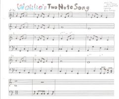 Wakko's Two Note Song by Dogman15