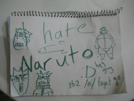 We Hate Naruto by TheStarkster