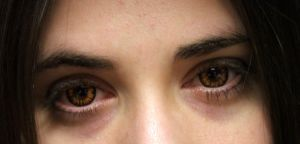 Amber Ambition contacts by Meadowknight