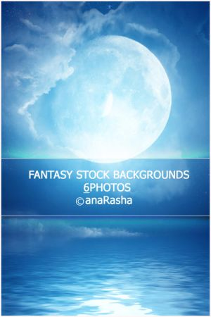 fantasy Stock BackGrounds 5 by anaRasha-stock
