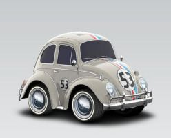 My Car Town Herbie by LittleBigDave