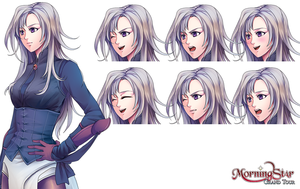 Victoria Character Sheet by Renmiou