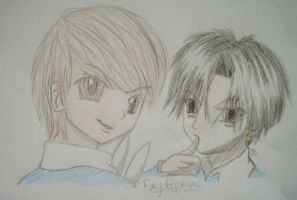 GA-Death Note crossoverXD by Forgotemme