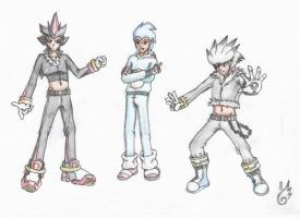 human hedgehogs by NickUicreh