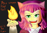 Playing with fire(Quite literally) by Akayomi