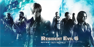 Resident Evil 6 by VickyxRedfield