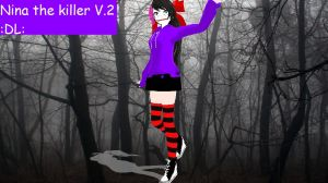 Nina the killer V2 :DL: by mokathekiller