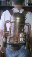 Jet pack Steampunk by IXEL-Manufacture