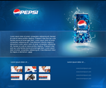 PEPSI minisite design by swift20