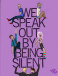 Day of Silence 2013 by YellowChello