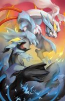 Double Kyurem by zettablob