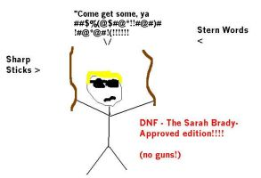 D.N.F. - Sarah Brady approved by LonelyImmortal