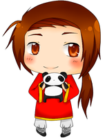 chibi china colored by lalalucy1217