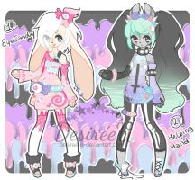 Pastel Goth Adopts (CLOSED) by Desiree-U