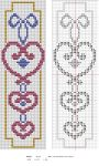 Hearts Bookmark by NevaSirenda