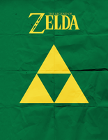 The Legend of Zelda Minimalist by TheHarlequinHatter