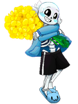 Sans Pagedoll by CandyCrystals