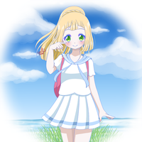 Pokemon Moon Lillie by ChibiSheepi