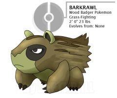Barkrawl - the wood badger by depthball