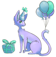 Bday Cat by Vullo