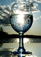 Glass Full of Sun by MSW-Fotoworx