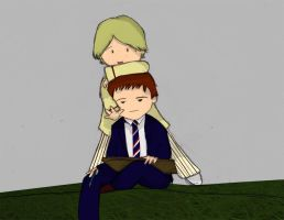 The Doctor and Turlough by whosname