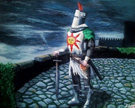 Knight Solaire by BarrettArtwork