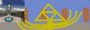 Project Hylian Abstract 50: TP Hyrule Castle by scriptureofthescribe