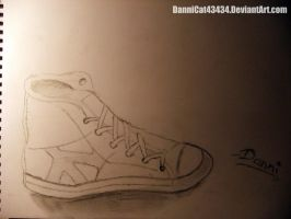 Converse drawing by DanniCat43434