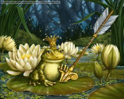 The Frog Princess by LiaSelina