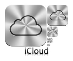 Apple iCloud Icon by MAUXWEBMASTER