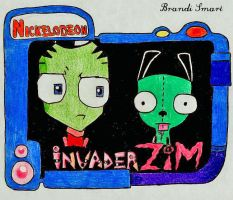 Invader Zim by Enlightenup23