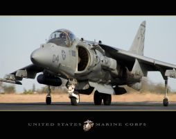 USMC Harrier by jdmimages