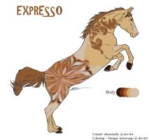 Character:Expresso by micro-pup