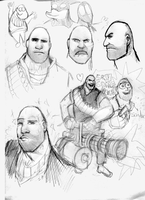 Heavy Sketches by PinkisPractical