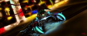Night of the Spider Rider by Fahad-Naeem