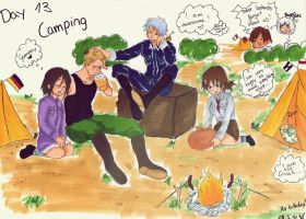 Day 13- Character you\'d go camping with by Bambily