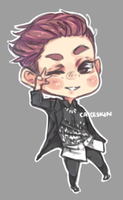 i drew chanyeol B))) by cakeskin