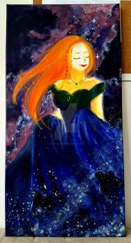 [Acrylic] The Sun Amongst Stars by tinystargazer