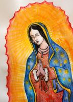 The Virgin Guadalupe by yaelzivan