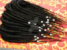 Jessica's Skull Dreads by miss-candi