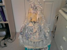Diaper Cake Wrapped by carmietee