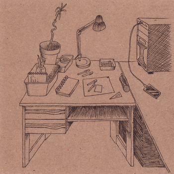 Desk by MartchZagorski