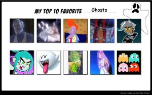 VH87's Top 10 Ghosts by VoyagerHawk87
