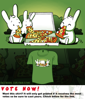 Woot Shirt - Your Choice Of Toppings by fablefire