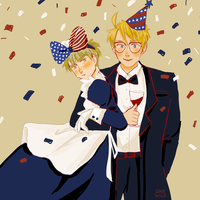 USUK: Happy 4th of July by amewica