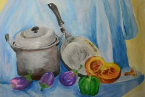 Still Life Painting: Kitchen by Exoen144