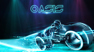 Tron Oasis by Oasis-Designer