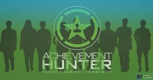 Achievement Hunter Silhoutte Poster by spiral6sm