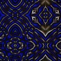 Molten Metal Series: Abstract Tiling Design Update by 1DeViLiShDuDe
